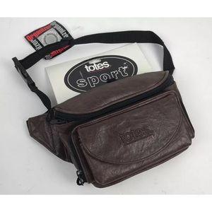 NWT Unisex TOTES Sports Belt Bag Multi zip pockets